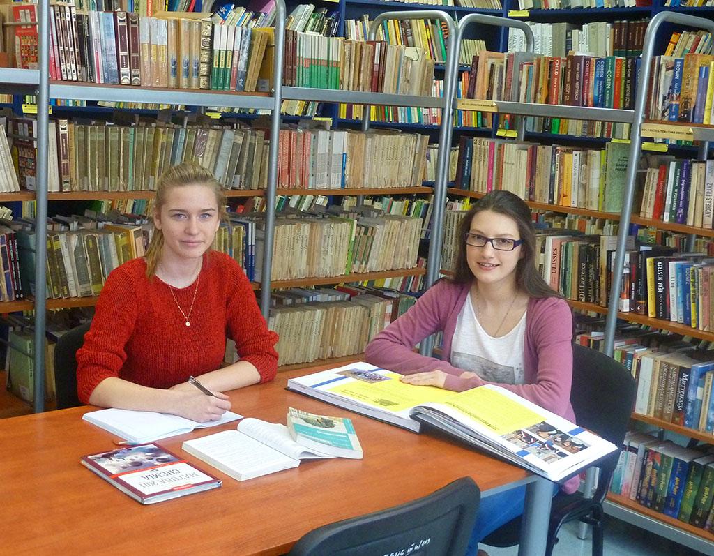 Biblioteka szkolna ZSUG wPleszewie